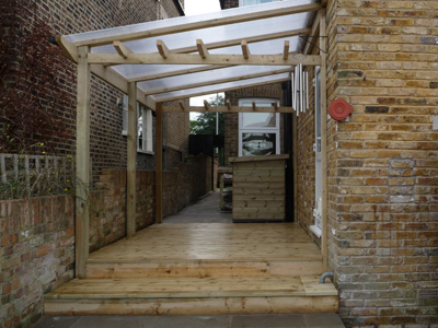 Wooden Structures - AK Fencing on Patio Lean To Ideas id=42420